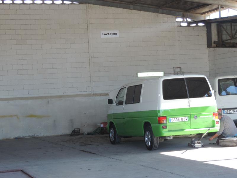 lavadero para caravanas