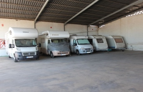parking caravanas Sevilla