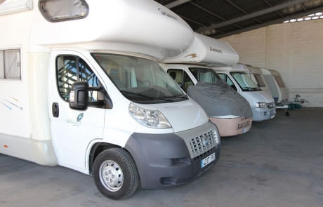 parking para caravanas
