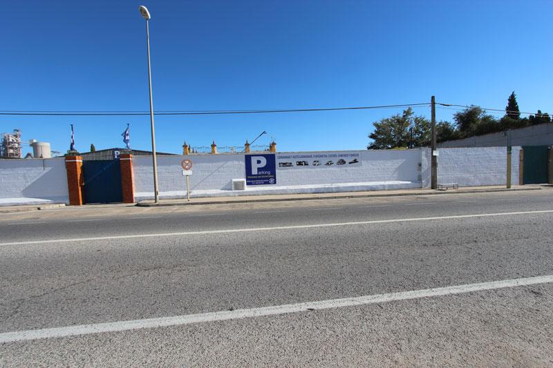 aparcamiento caravanas en Sevilla