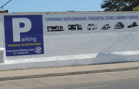 Parking autocaravanas
