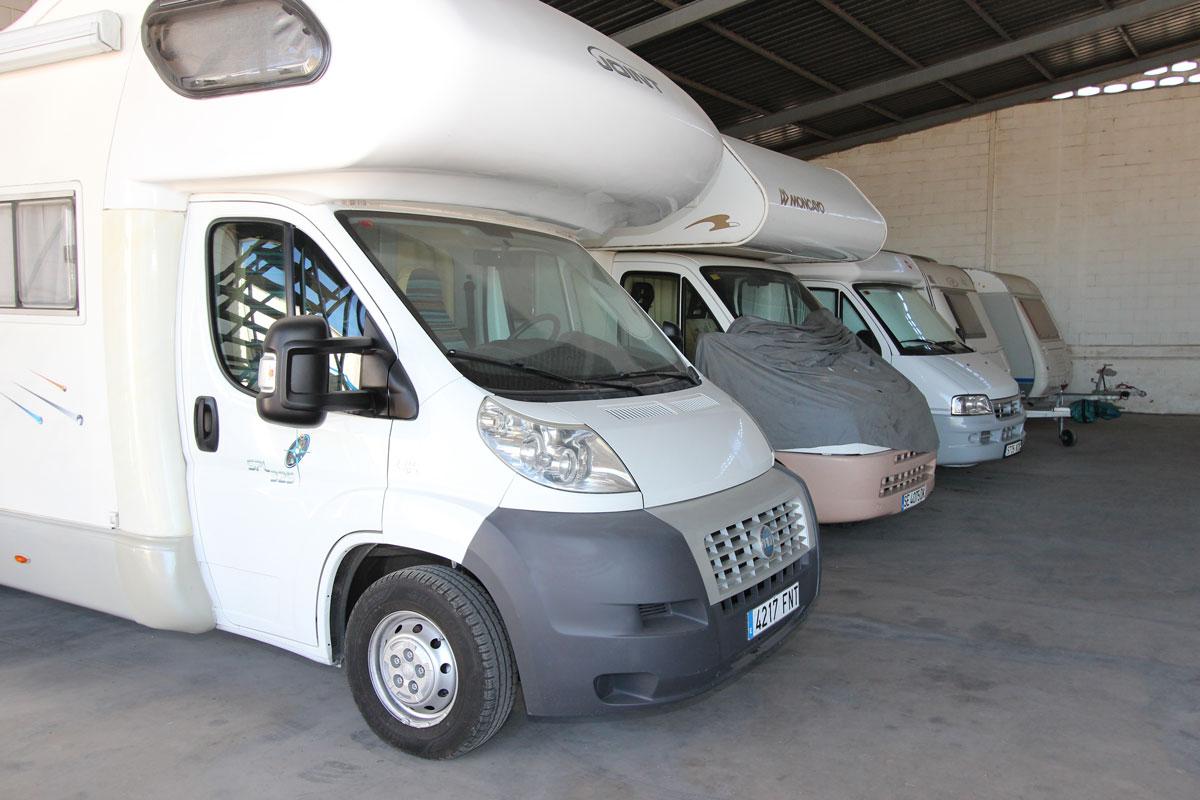 parking de caravanas en Sevilla