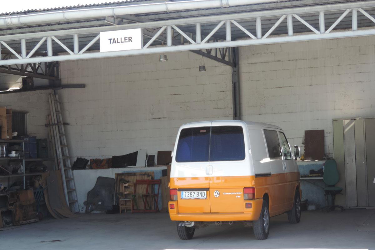 parking autocaravanas Sevilla